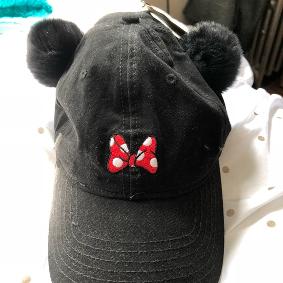 565288ce853 Torrid Minnie Mouse baseball cap w  Pom Pom ears